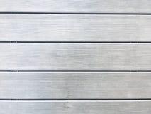Heldere grijze houten vloertextuur Stock Foto's