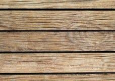Heldere Houten Achtergrond Natuurlijke houten textuur met horizontale lijnen Stock Afbeeldingen