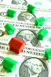 Heldere immobiliënmarkt Royalty-vrije Stock Afbeeldingen