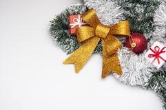 Heldere Kerstmissamenstelling Stock Afbeeldingen