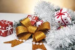 Heldere Kerstmissamenstelling Royalty-vrije Stock Foto's
