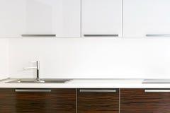 Heldere keukenteller Stock Fotografie