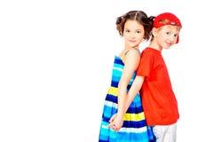 Heldere kinderen royalty-vrije stock afbeeldingen