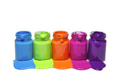 Heldere kleuren Stock Foto's