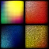 Heldere kleurenvierkanten Royalty-vrije Stock Afbeelding