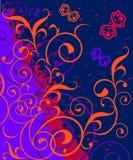 Heldere Kleurrijke Achtergrond Royalty-vrije Stock Afbeeldingen