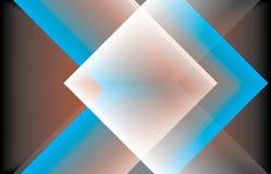 heldere kleurrijke achtergrond met rode, blauwe witte strepen stock illustratie