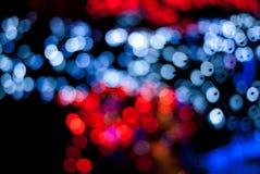 Heldere kleurrijke bokeh Stock Foto's