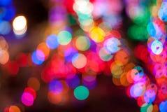 Heldere kleurrijke bokeh Royalty-vrije Stock Foto's