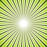 Heldere kleurrijke radiaal, uitstralend lijnen Starburst/zonnestraalbedelaars vector illustratie