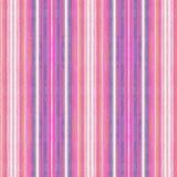 Heldere kleurrijke roze en blauwe waterverf geweven strepen in een het herhalen patroon royalty-vrije illustratie