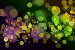 Heldere kleurrijke samenvatting bokeh Stock Afbeeldingen