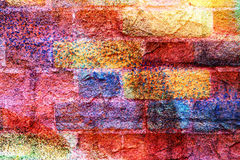 Heldere kleurrijke unieke abstracte achtergrond Royalty-vrije Stock Afbeelding