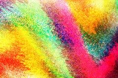 Heldere kleurrijke unieke abstracte achtergrond Stock Afbeeldingen