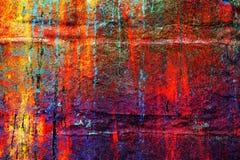 Heldere kleurrijke unieke abstracte achtergrond Royalty-vrije Stock Foto