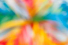 Heldere kleurrijke vage achtergrond bokeh Stock Afbeeldingen