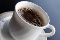Heldere koffiekop Stock Foto
