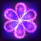 Heldere kosmische bloem Stock Fotografie