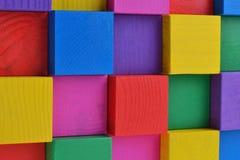 Heldere kubussen Stock Afbeelding