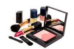 Heldere lippenstift Royalty-vrije Stock Afbeeldingen