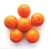 Heldere mandarijn royalty-vrije stock foto