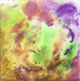 Heldere mooie geschilderde textuur met verven Royalty-vrije Stock Foto's