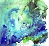 Heldere mooie geschilderde textuur met verven Stock Afbeelding