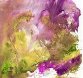 Heldere mooie geschilderde textuur met verven Royalty-vrije Stock Foto