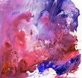 Heldere mooie geschilderde textuur met verven Royalty-vrije Stock Fotografie