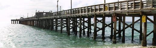 Heldere ochtend in het strand van Miami Stock Afbeeldingen