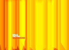 Heldere oranje abstracte achtergrond Stock Afbeelding