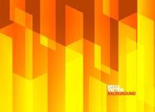 Heldere oranje abstracte achtergrond Stock Foto