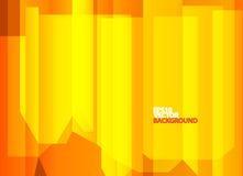 Heldere oranje abstracte achtergrond Royalty-vrije Stock Foto's