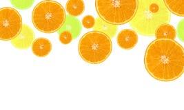 Heldere oranje achtergrond Stock Foto's