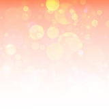 Heldere oranje achtergrond Royalty-vrije Stock Afbeelding