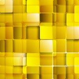 Heldere oranje gouden technologie regelt achtergrond Stock Afbeelding