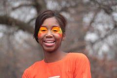 Heldere Oranje Samenstelling Stock Afbeeldingen