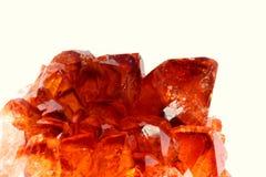Heldere oranje steen Royalty-vrije Stock Afbeeldingen