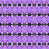 Heldere orchideeënbloem seamlesss stock illustratie