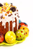 Heldere Pasen-cakes Stock Afbeelding