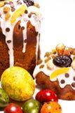 Heldere Pasen-cakes Royalty-vrije Stock Foto