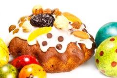 Heldere Pasen-cakes Stock Afbeeldingen