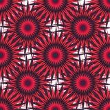 Heldere rode sterren op een lichte vectorillustratie als achtergrond Royalty-vrije Stock Foto