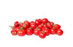 Heldere rode tomaten Royalty-vrije Stock Afbeeldingen