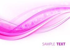 Heldere roze elegantie Royalty-vrije Stock Foto's