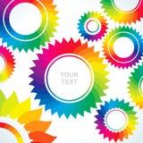 Heldere toestellen van verschillende kleuren Stock Foto's