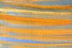 Heldere vlekken en vlekkenverf op het canvas abstracte achtergrond Stock Afbeeldingen