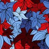 Heldere wereldvreemde bloemmengeling vector illustratie