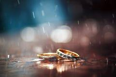 Heldere witte achtergrond Huwelijk Royalty-vrije Stock Foto