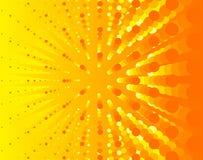 Heldere zonnige illustratieachtergrond Stock Illustratie
